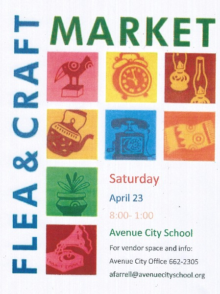 Avenue City School R 9 Avenue City Flea Market And Vendor Fair